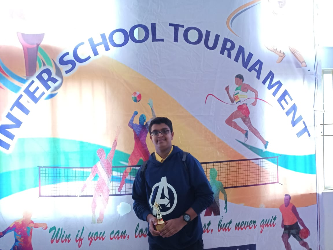 Inter School Table Tennis Tournament – Gold – Rohan Mullay