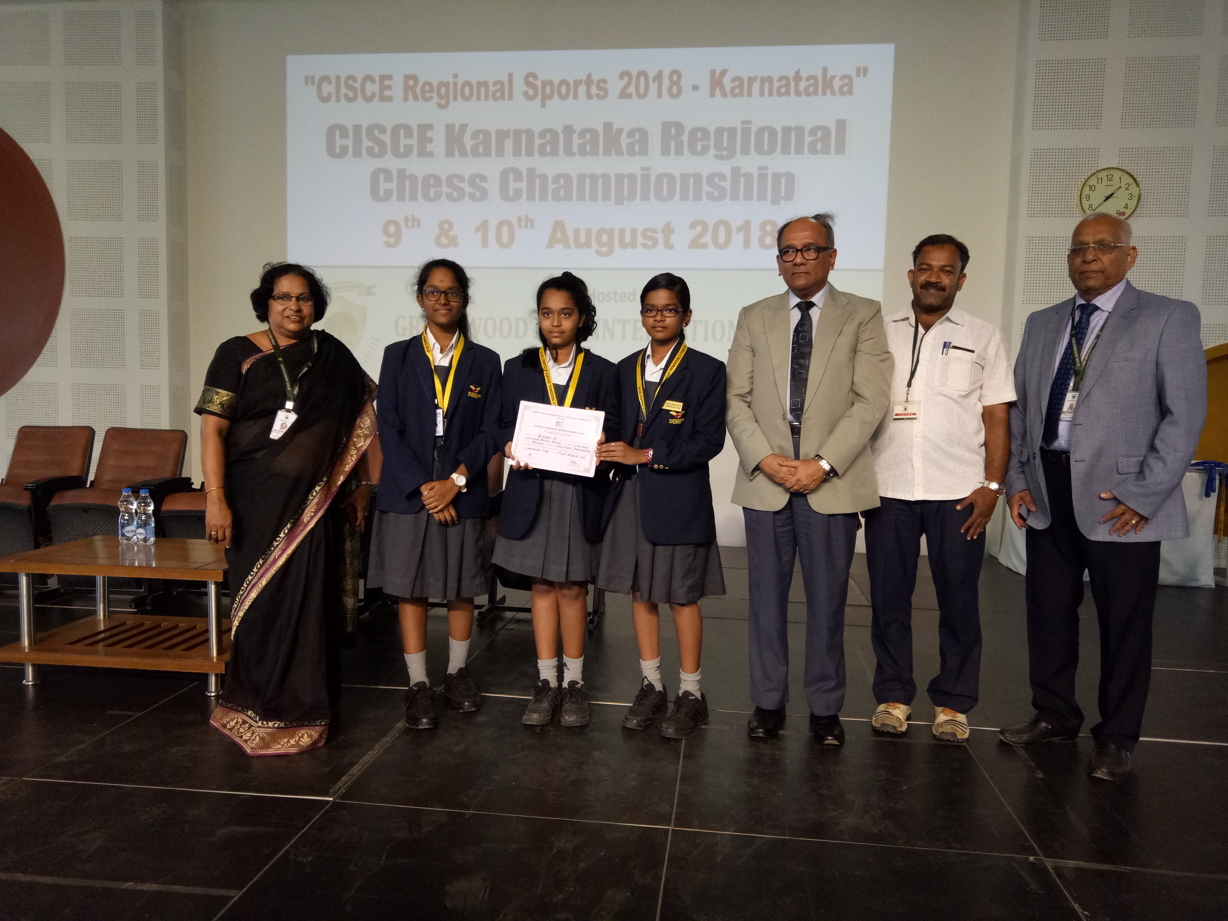 CICSE INTER-SCHOOL CHESS COMPETITION